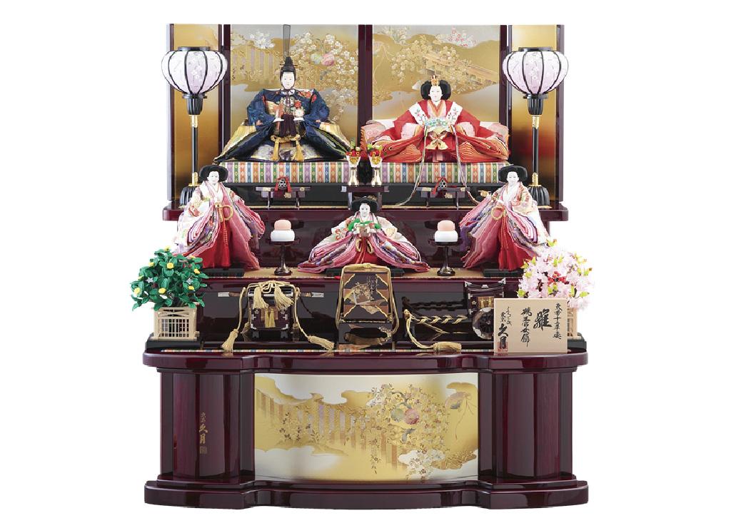 木製三段飾り